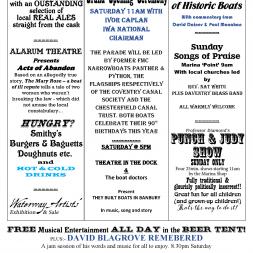 Braunston Marina Events
