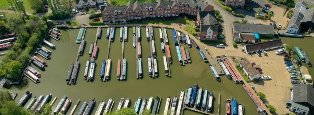 Aerial View Braunston Marina 2